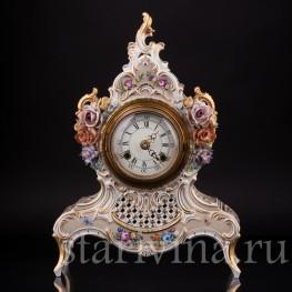 Фарфоровые часы, Lindner, Германия, вт. пол. 20 в